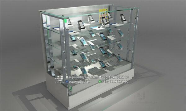 tủ trưng bày điện thoại AL002